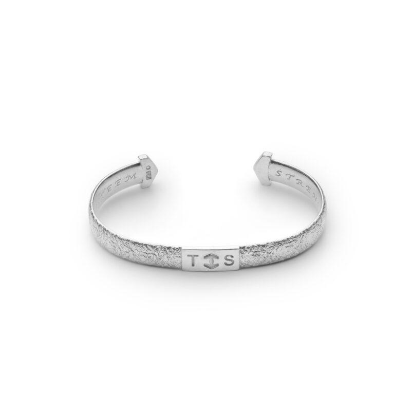 Sterling Silver 935 Cuff Armband Bracelet 3