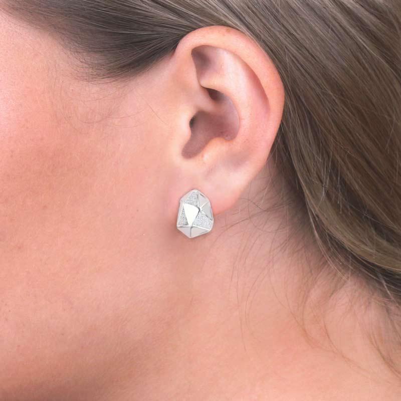 arktis pin earring örhänge sterling silver 935