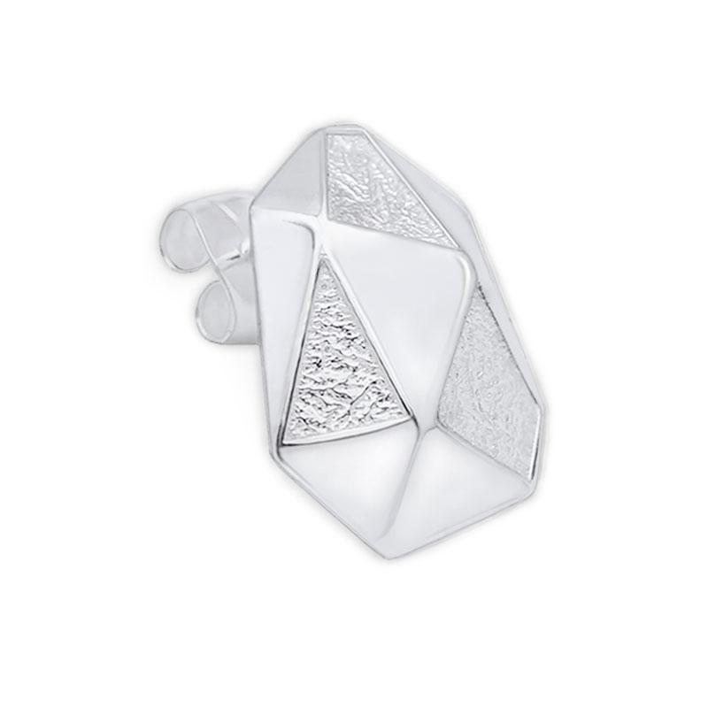 arktis pin earring örhänge silver