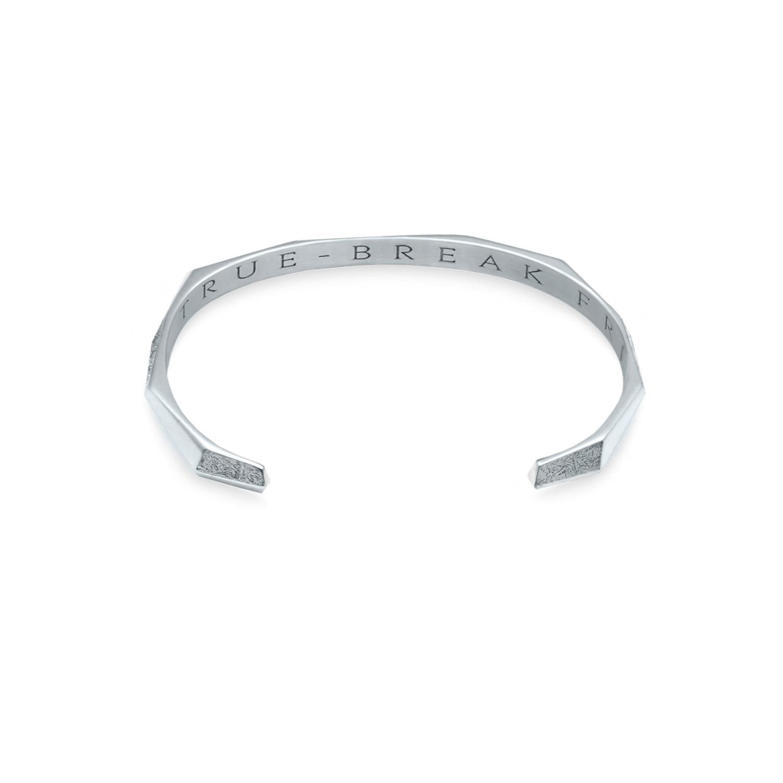 arktis white gold vit guld bangle bracelet armband 234