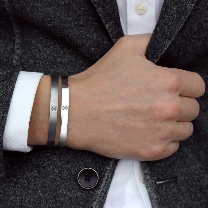 HALO Arc armband i 100% återvunnet sterling silver 935 4