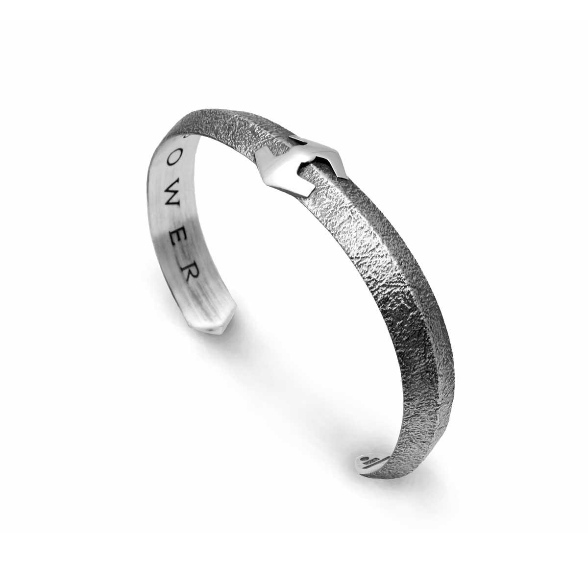 VIGG Sterling Silver Bangle Bracelet
