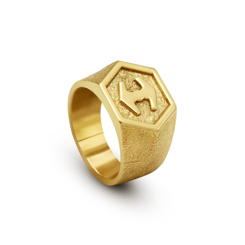 vigg ring 18k gold vermeil 2
